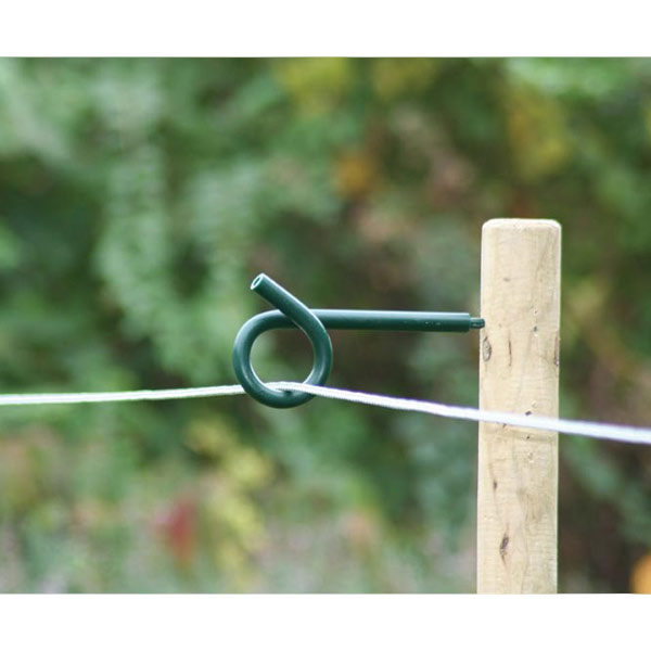 Pigtail Distance Insulator Green Electric Fencing Offset