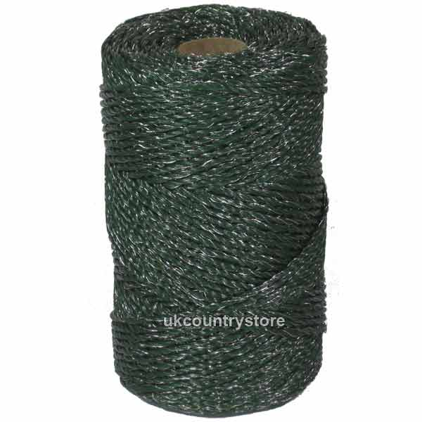 Green Electric Fence Twine   Poly Wire